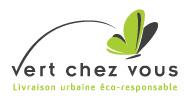 livraison écologique, logo Vert Chez Vous